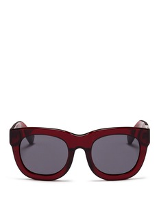 3.1 Phillip Lim Acetate rounded square sunglasses