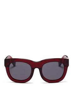 3.1 Phillip LimAcetate rounded square sunglasses