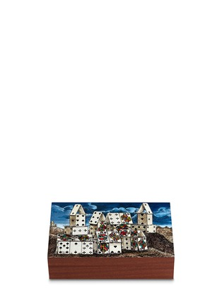 Main View - Click To Enlarge - Fornasetti - Citta di Carte playing card box