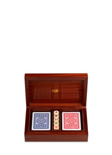 Fornasetti Citta di Carte playing card box