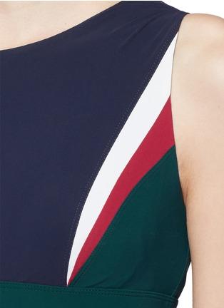 Detail View - Click To Enlarge - No Ka'Oi - 'Lana' colourblock sports bra