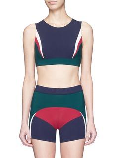 No Ka'Oi'Lana' colourblock sports bra