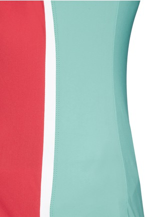 Detail View - Click To Enlarge - No Ka'Oi - 'Mala' colourblock performance tank top