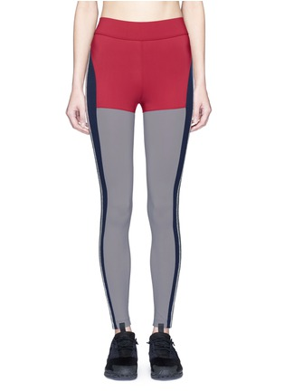 Main View - Click To Enlarge - No Ka'Oi - 'Kei' panelled performance leggings