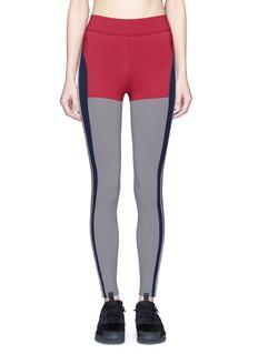 No Ka'Oi'Kei' panelled performance leggings