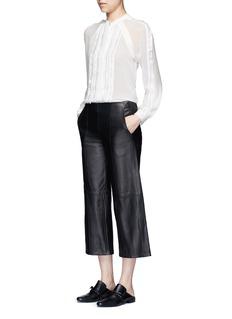 3.1 Phillip LimFil coupé stripe chiffon blouse