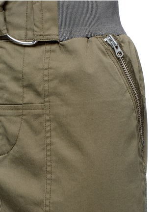 Detail View - Click To Enlarge - 3.1 Phillip Lim - Twill belted utility skirt