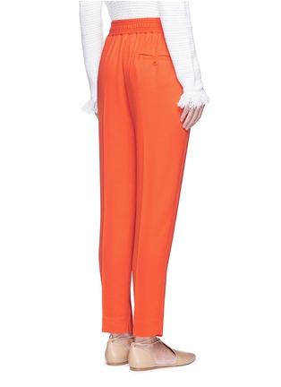 背面 - 点击放大 - 3.1 PHILLIP LIM - 单色绉绸长裤