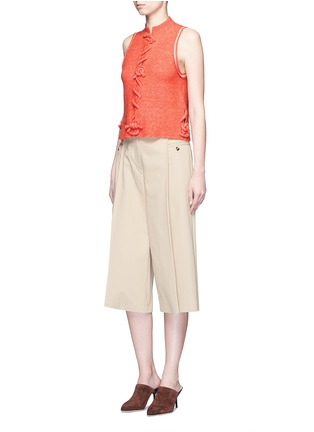 Figure View - Click To Enlarge - 3.1 Phillip Lim - Knot front sleeveless knit top