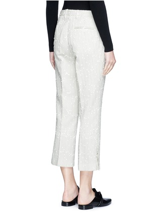 Back View - Click To Enlarge - 3.1 Phillip Lim - Stripe bouclé kick flare pants