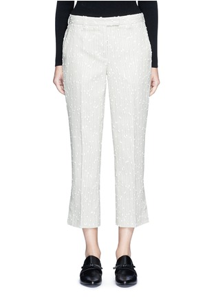 Main View - Click To Enlarge - 3.1 Phillip Lim - Stripe bouclé kick flare pants
