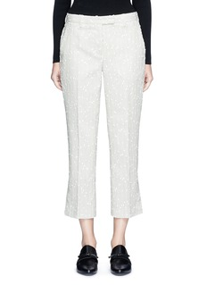 3.1 Phillip Lim Stripe bouclé kick flare pants