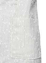Stripe bouclé soft blazer