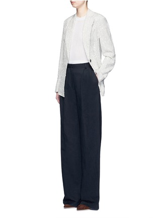 Figure View - Click To Enlarge - 3.1 Phillip Lim - Stripe bouclé soft blazer