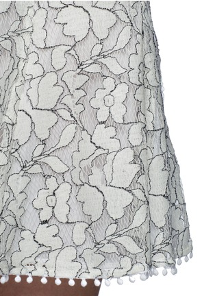 Detail View - Click To Enlarge - Nicholas - Floral lace flare skirt