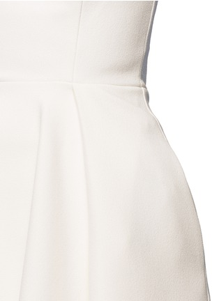 Detail View - Click To Enlarge - Nicholas - Crepe strapless flare top