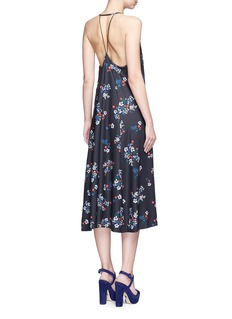 NICHOLAS'Posie' floral print strappy midi dress