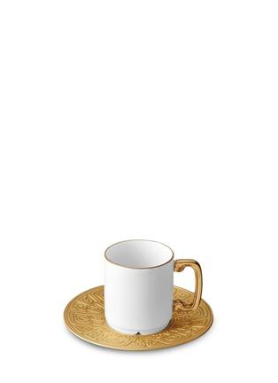 L'Objet-Han espresso cup and saucer six-piece set