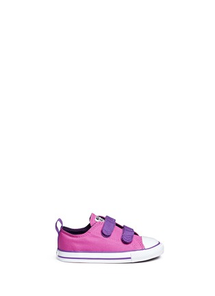 Main View - Click To Enlarge - CONVERSE - 'Chuck Taylor All Star 2V Ox' canvas toddler sneakers