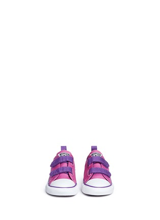 Figure View - Click To Enlarge - CONVERSE - 'Chuck Taylor All Star 2V Ox' canvas toddler sneakers