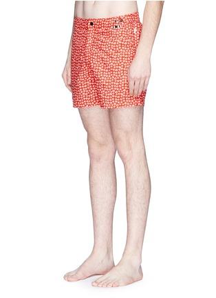 Figure View - Click To Enlarge - DANWARD - Naive' floral print swim shorts