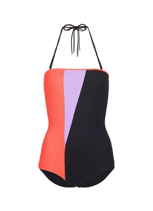 Main View - Click To Enlarge - Roksanda - Colourblock one-piece swimsuit
