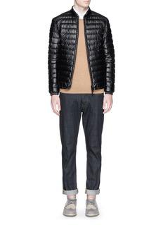 Armani CollezioniReversible down jacket