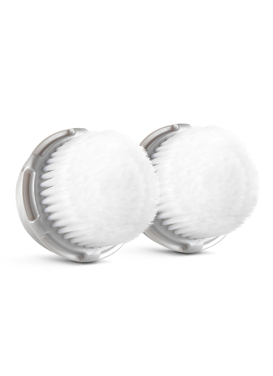 LUXE Facial Brush Head – Twin Pack by Clarisonic