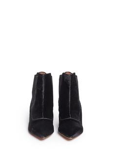 TABITHA SIMMONS'Shadow' calf hair Chelsea ankle boots