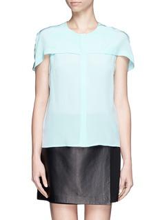 SANDROCyrielle silk shirt