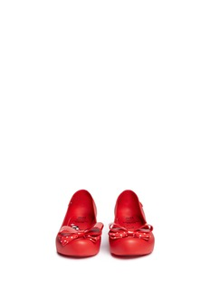 Melissa x Disney 'Ultragirl Minnie III' polka dot bow kids flats