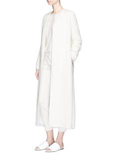 The Row'Pamie' open front tweed coat