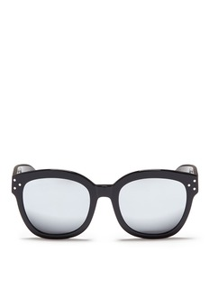 Spektre'Bellucci' acetate square mirror sunglasses