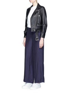 Acne Studios 'Tennessee' stripe twill wide leg pants
