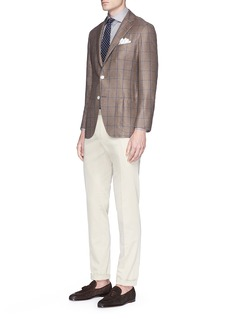 Tomorrowland Loro Piana Rain System® twill pants