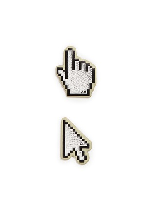 Anya Hindmarch - x Chaos Fashion 'Cursor' leather sticker set