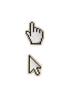 Anya Hindmarch x Chaos Fashion 'Cursor' leather sticker set
