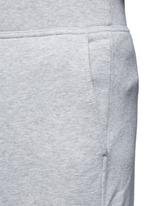 Vintage fleece zip fly sweatpants