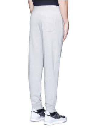 Back View - Click To Enlarge - T By Alexander Wang - Vintage fleece zip fly sweatpants
