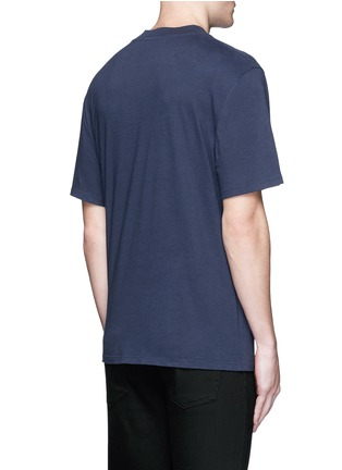 T By Alexander Wang - High crew neck cotton jersey T-shirt