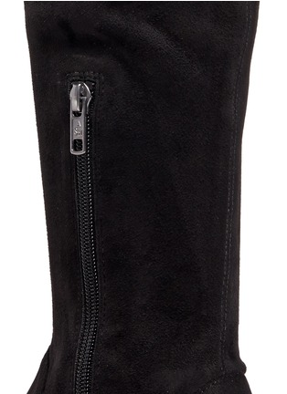 Detail View - Click To Enlarge - Ash - 'Miracle' faux suede thigh high sneakers