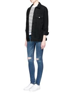 rag & bone/JEAN'Skinny' distressed jeans