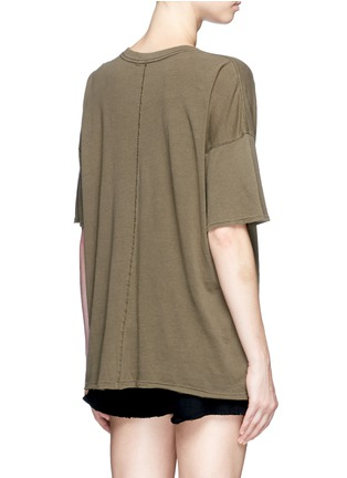 Back View - Click To Enlarge - rag & bone/JEAN - 'The Big Tee' pocket oversized cotton T-shirt