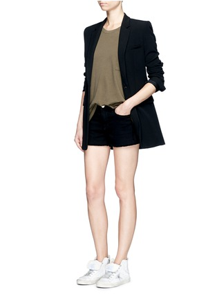 Figure View - Click To Enlarge - rag & bone/JEAN - 'The Big Tee' pocket oversized cotton T-shirt