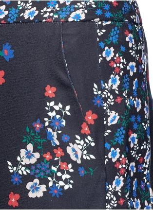 Detail View - Click To Enlarge - Nicholas - 'Posie' floral print sateen pants