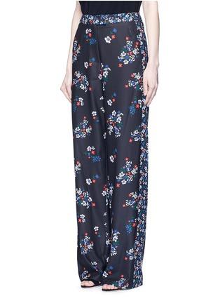 Figure View - Click To Enlarge - Nicholas - 'Posie' floral print sateen pants