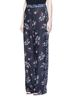 NICHOLAS'Posie' floral print sateen pants