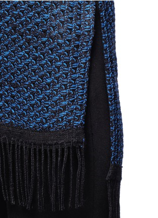 Detail View - Click To Enlarge - Nicholas - Fringe knit sleeveless top