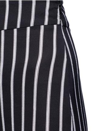 Detail View - Click To Enlarge - Nicholas - Split side stripe culottes