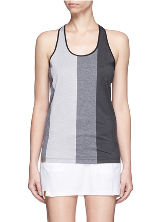 Monreal London - Mélange performance jersey racer tank top